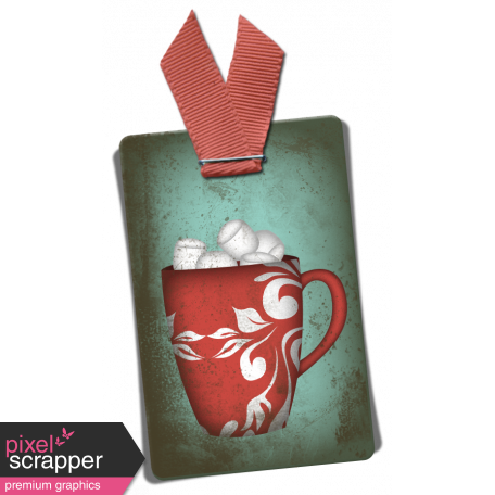 Snow Day Mug Tag