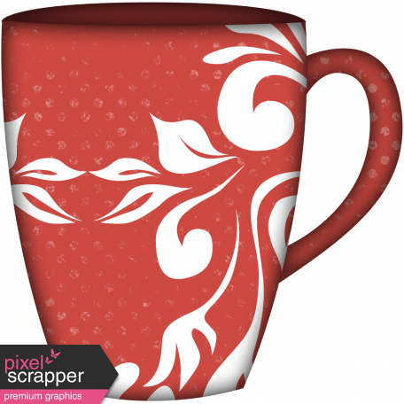 Snow Day Mug Red