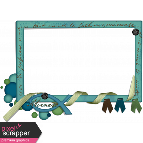 Miracle Frame Cluster graphic by Brooke Gazarek | Pixel Scrapper ...