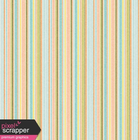 Peachy Striped Paper 59