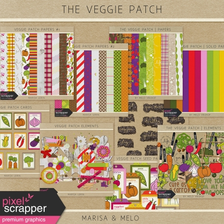 The Veggie Patch - Collab Bundle