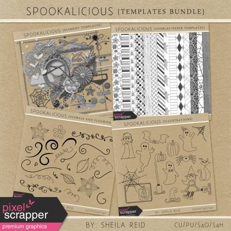Spookalicious Templates Bundle