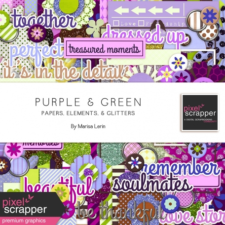 Purple & Green Bundle