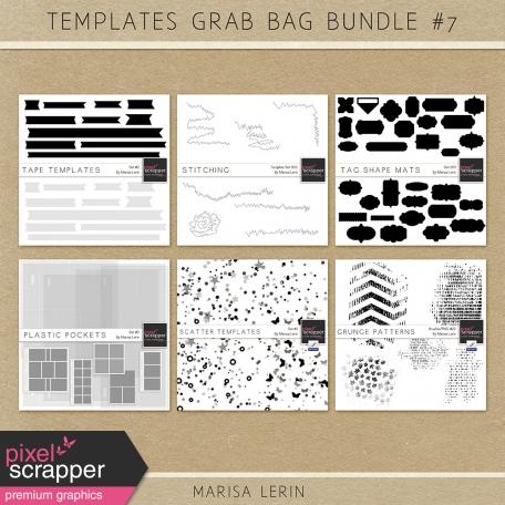 Templates Grab Bag Bundle #7