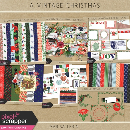 A Vintage Christmas Bundle