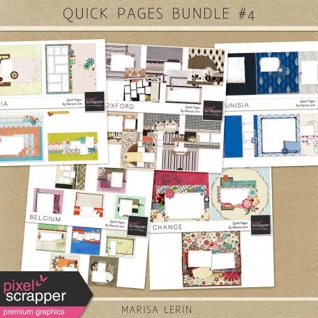 Quick Pages Bundle #4