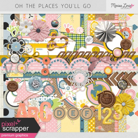 Oh the Places You'll Go Bundle
