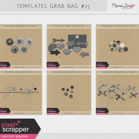 Templates Grab Bag Bundle #25