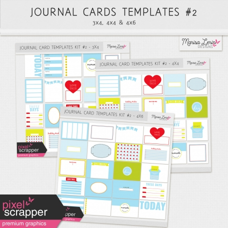 Pocket Card Templates Bundle #2