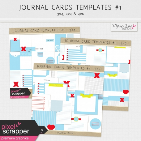 Pocket Card Templates Bundle #1