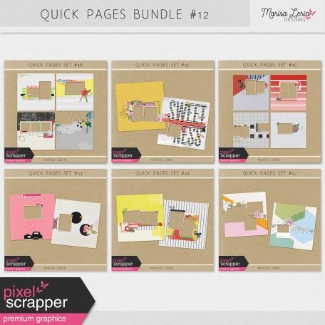 Quick Pages Bundle #12