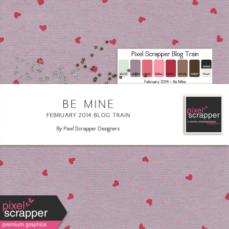 Be Mine Blog Train Bundle