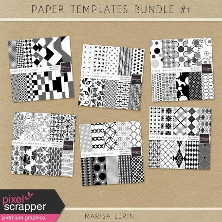 Paper Templates Bundle #1