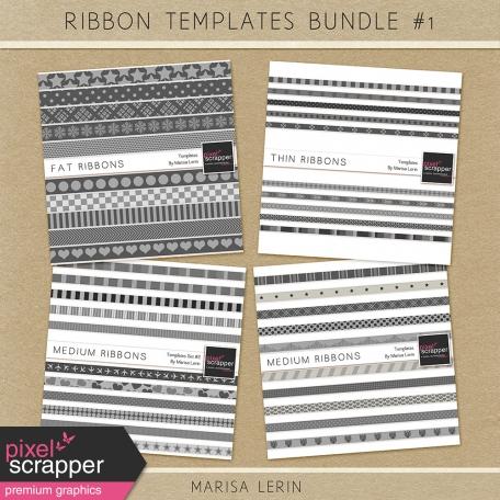 Ribbon Templates Bundle #1