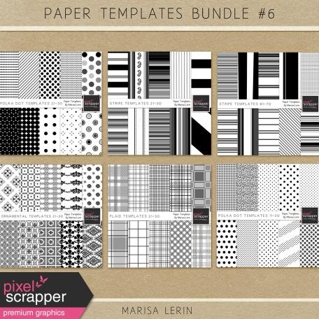 Paper Templates Bundle #6