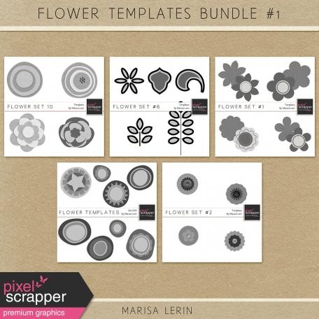 Flower Templates Bundle #1