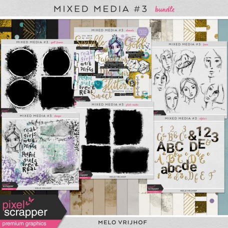 Mixed Media 3 - Bundle