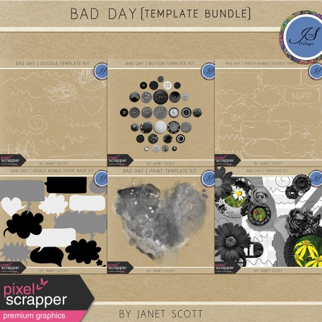 Bad Day - Template Bundle