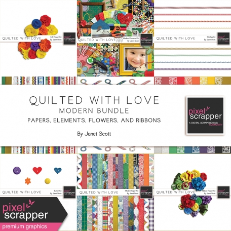 Quilted With Love - Modern Bundle
