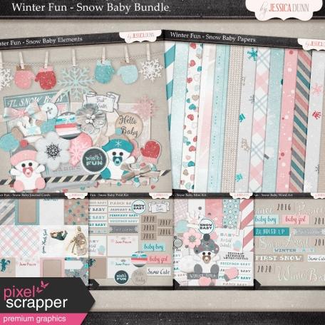 Winter Fun - Snow Baby Bundle