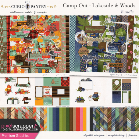 Camp Out : Lakeside & Woods Bundle