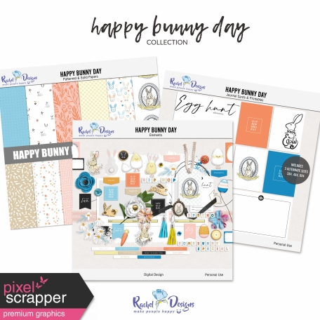 Happy Bunny Day   Collection
