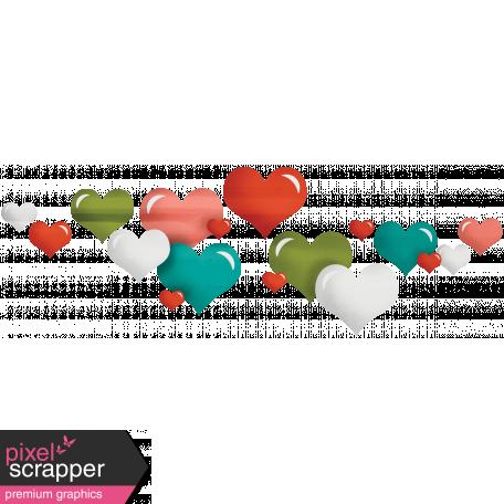 Delish Mini Kit Hearts Scatter