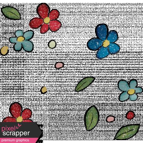 Bearly Spring Scatter 01 Graphic By Gina Jones Pixel Scrapper Digital Scrapbooking
