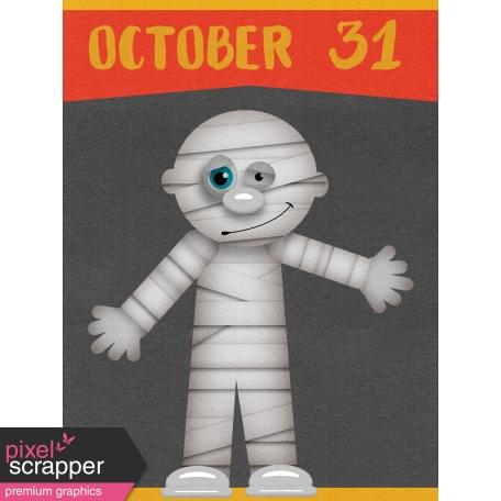 Halloween Mix and Match Journal Card 10