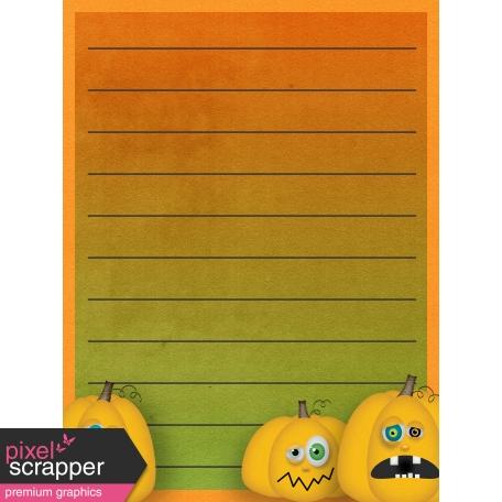 Halloween Mix and Match Journal Card 12