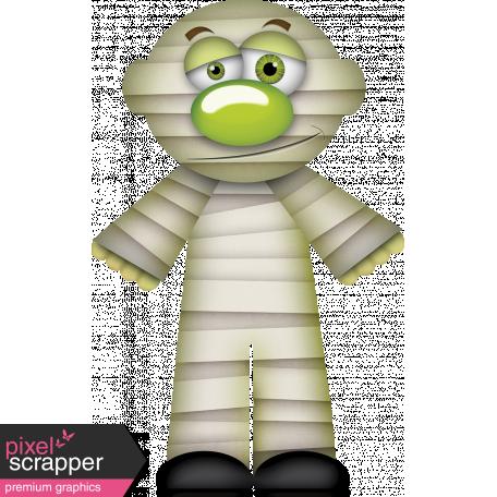 Bootiful Halloween Mummy