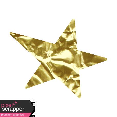 Nutcracker December BT Mini Kit - Gold Foil Star