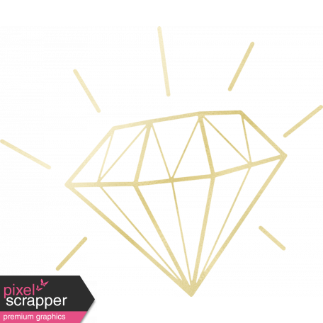 Shine - Gold Diamond Shape graphic by Sheila Reid | Pixel ...