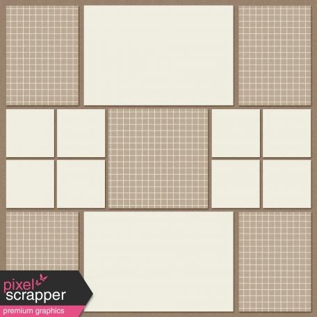 In The Pocket Sampler - Pocket Page Basics Template - Square R1