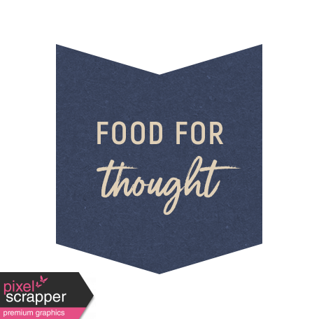 Cozy Kitchen Food for Thought Word Art graphic by Violet ...