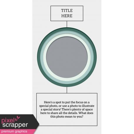 Stories To Tell - Traveler's Notebook Template 5 (XL)