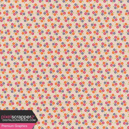 Sparkling Summer - Paper Flowers Tan