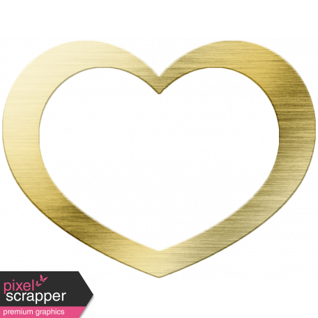 Special Day Gold Heart