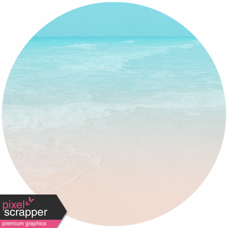 Summer Day Print Circle 05