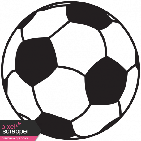 illustration soccer ball template graphic by marisa lerin pixel