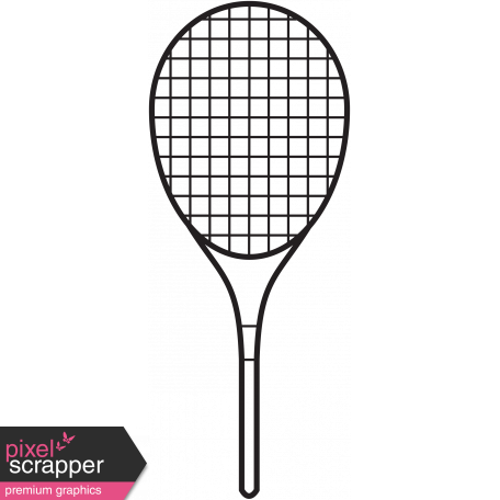Illustration Tennis Racket Template Graphic By Marisa Lerin Pixel
