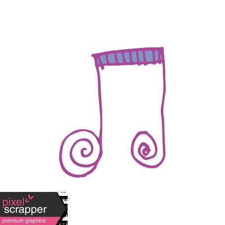 Art School Music Doodle Music Note 1