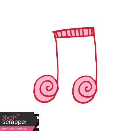 Art School Music Doodle Music Note 5