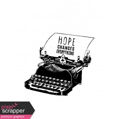 Tangible Hope Art Print 02 8x10