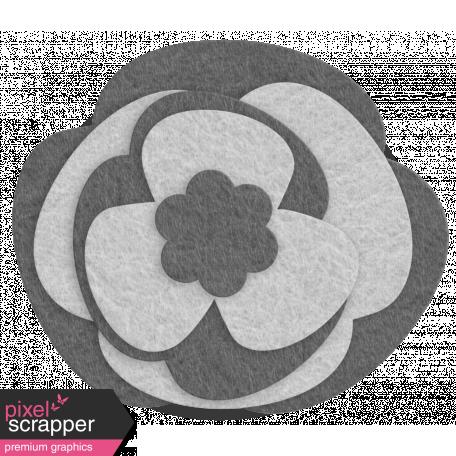 Felt Flower Template - Set 10a
