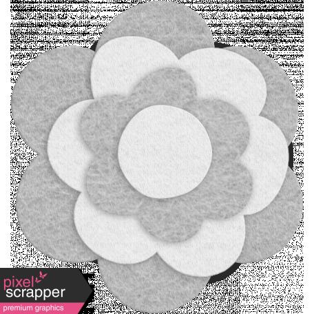 Felt Flower Template - Set 10b