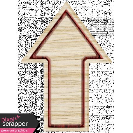 BYB Elements Wood Arrow 2d