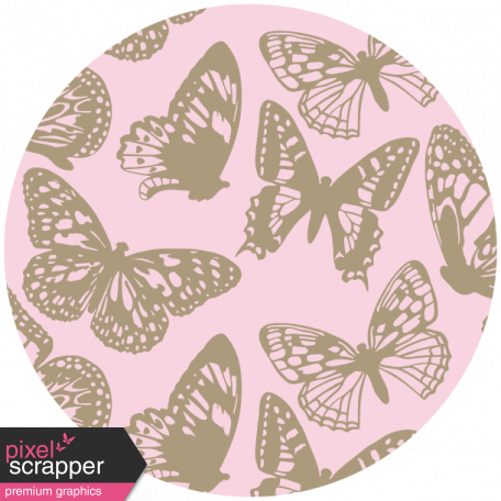 Seriously Butterflies Elements - Circle 07