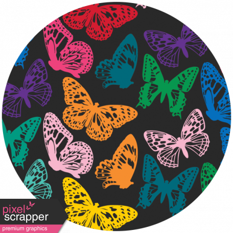 Seriously Butterflies Elements - Circle 08