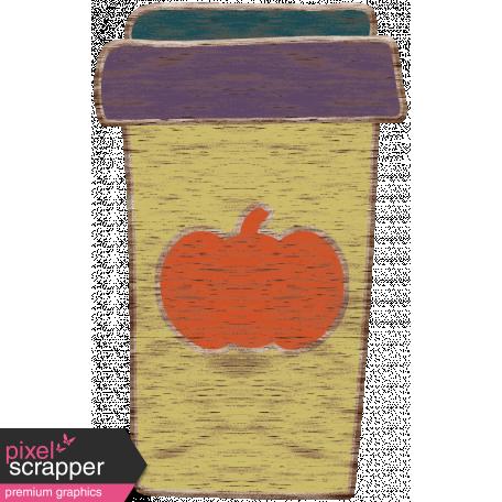 Pumpking Spice Wood Veneers Cup 2 Graphic By Marisa Lerin